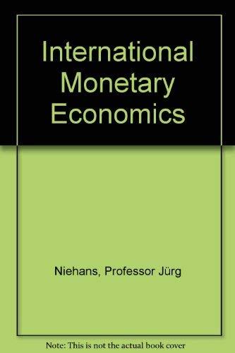 9780801834080: International Monetary Economics