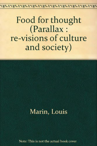 9780801834776: Food for thought (Parallax : re-visions of culture and society)