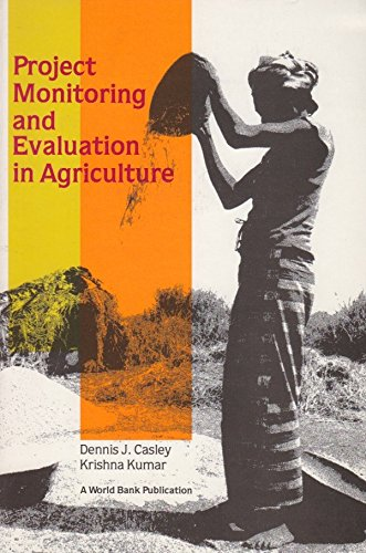 9780801836169: Project Monitoring and Evaluation in Agriculture