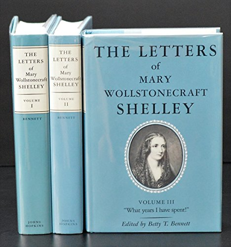 9780801836985: The Letters of Mary Wollstonecraft Shelley