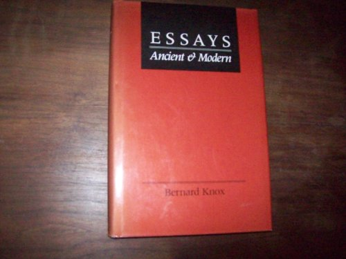 9780801837890: Essays Ancient and Modern