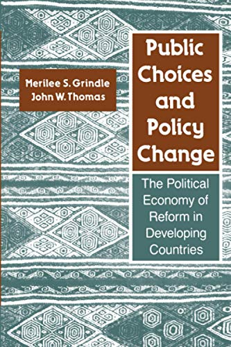 9780801841569: Public Choices and Policy Change: The Political Economy of Reform in Developing Countries