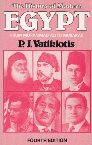 9780801842153: The History of Modern Egypt: From Muhammad Ali to Mubarak