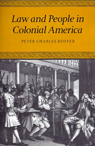 9780801843075: Law and People in Colonial America