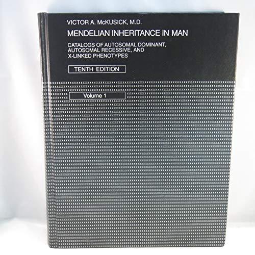 9780801844119: Mendelian Inheritance in Man (2 Vols) (Vol 1)