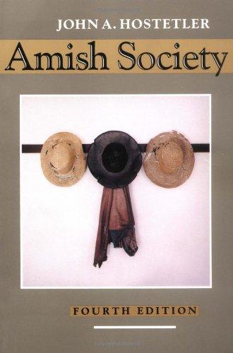 9780801844423: Amish Society