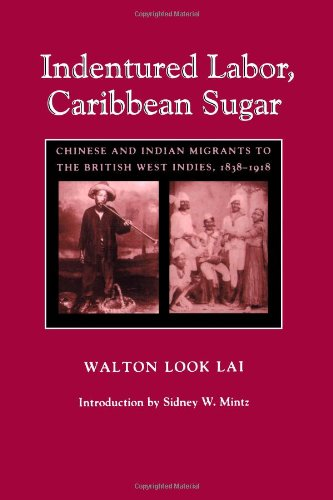 9780801844652: Indentured Labor, Caribbean Sugar: Chinese and Indian Migrants to the British West Indies, 1838-1918 (Johns Hopkins Studies in Atlantic History and Culture)