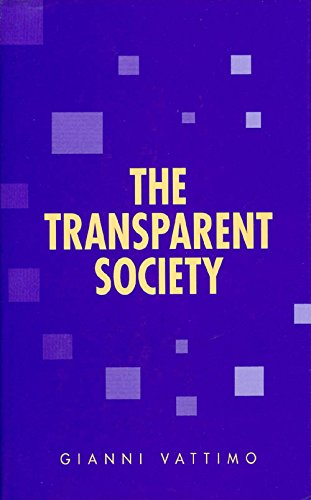 9780801845277: The Transparent Society (Parallax: Re-visions of Culture and Society)
