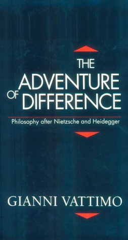 The Adventure of Difference: Philosophy after Nietzsche and Heidegger (Parallax: Re-visions of ...