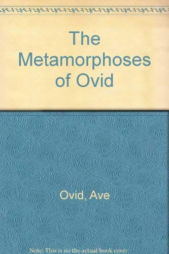 9780801847974: The Metamorphoses of Ovid