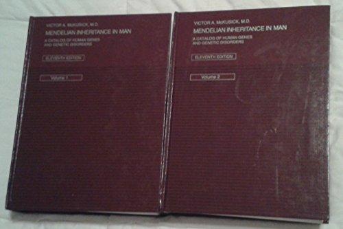 9780801849336: Mendelian Inheritance in Man: A Catalog of Human Genes and Genetic Disorders (2 Volumes)