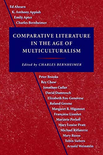 9780801850059: Comparative Literature in the Age of Multiculturalism (Parallax: Re-visions of Culture and Society)