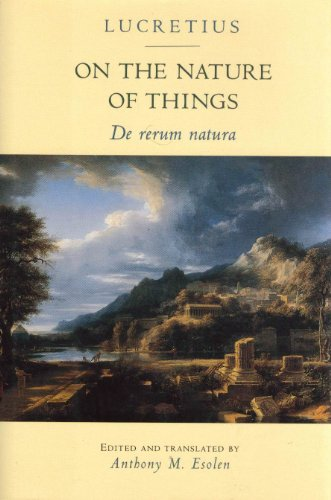 9780801850547: On the Nature of Things: De rerum natura