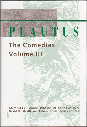 9780801850677: Plautus: The Comedies: 3