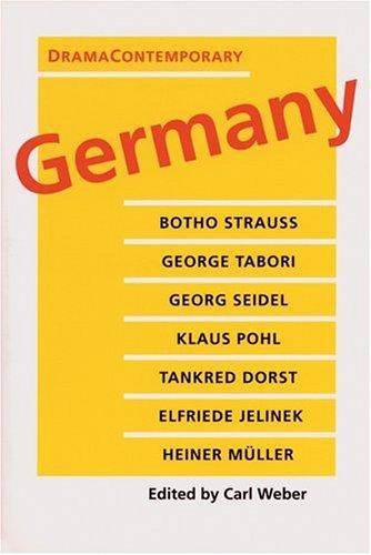 DramaContemporary: Germany (PAJ Books)