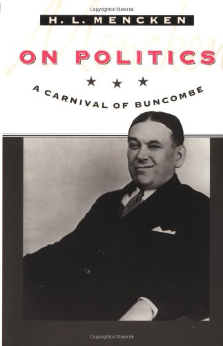 9780801853425: On Politics: A Carnival of Buncombe