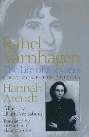 9780801855870: Rahel Varnhagen: The Life of a Jewess