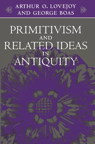 9780801856112: Primitivism and Related Ideas in Antiquity