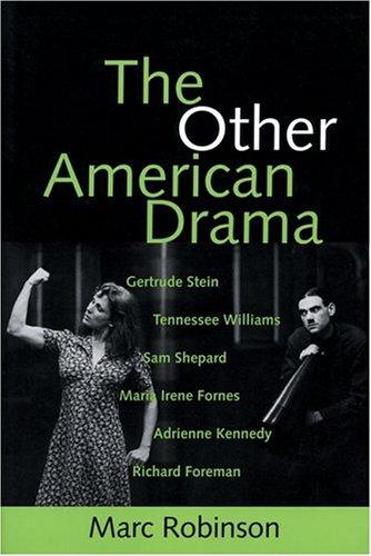 9780801856303: The Other American Drama (PAJ Books)
