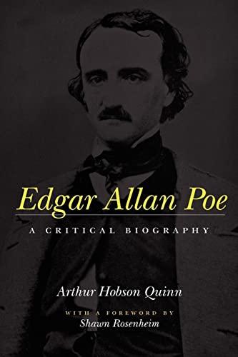 9780801857300: Edgar Allan Poe: A Critical Biography