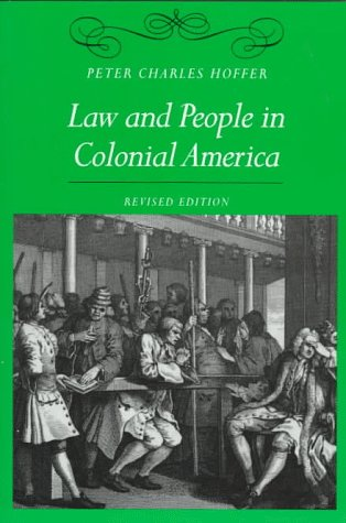 9780801858161: Law and People in Colonial America