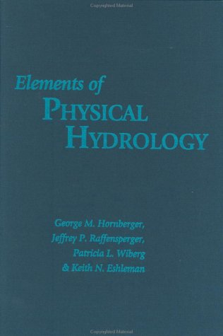 9780801858567: Elements of Physical Hydrology