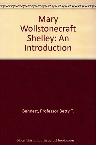9780801859755: Mary Wollstonecraft Shelley: An Introduction