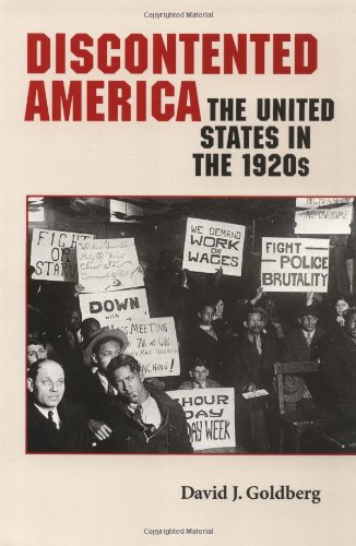 9780801860058: Discontented America: The United States in the 1920s (The American Moment)