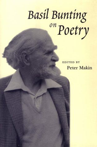 9780801861666: Basil Bunting on Poetry