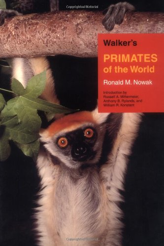 9780801862519: Walker's Primates of the World