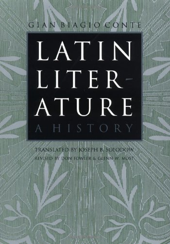 9780801862533: Latin Literature: A History
