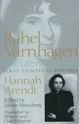 9780801863356: Rahel Varnhagen: The Life of a Jewess