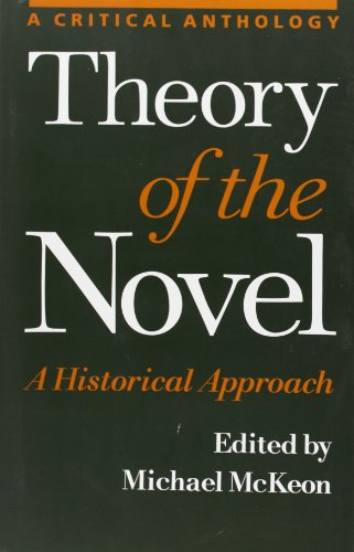 9780801863974: Theory of the Novel: A Historical Approach