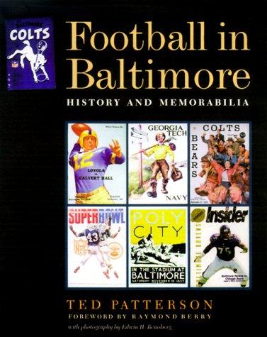 9780801864247: Football in Baltimore: History and Memorabilia