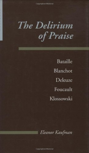 9780801865138: The Delirium of Praise: Bataille, Blanchot, Deleuze, Foucault, Klossowski (Parallax: Re-visions of Culture and Society)