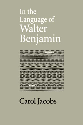 9780801866692: In the Language of Walter Benjamin
