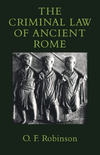 9780801867576: The Criminal Law of Ancient Rome