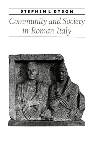 9780801867606: Community and Society in Roman Italy (Ancient Society and History)