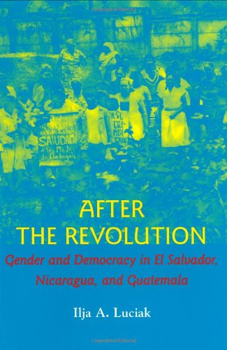 After the Revolution: Gender and Democracy in El Salvador, Nicaragua, and Guatemala: Ilja A. Luciak