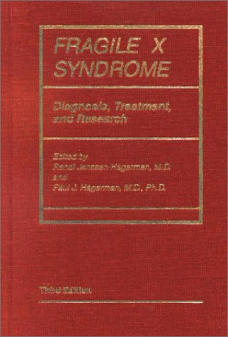 9780801868436: Fragile X Syndrome: Diagnosis, Treatment, and Research (Johns Hopkins Series in Contemporary Medicine and Public Hea)