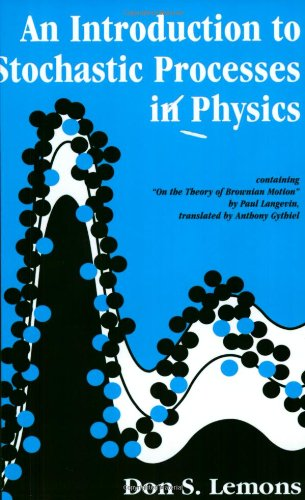 9780801868672: An Introduction to Stochastic Processes in Physics (Johns Hopkins Paperback)