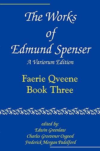 9780801869853: The Works of Edmund Spenser: A Variorum Edition