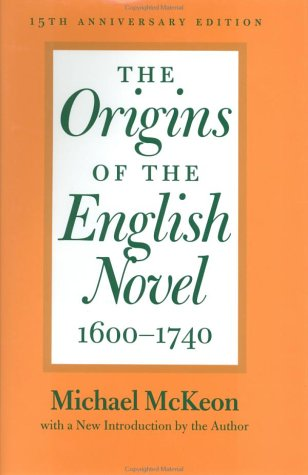 9780801869952: The Origins of the English Novel, 1600-1740