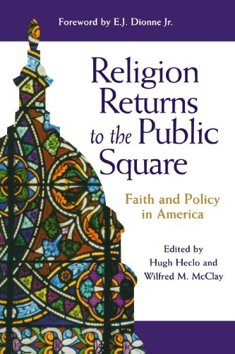 9780801871955: Religion Returns to the Public Square: Faith and Policy in America (Woodrow Wilson Center Press)