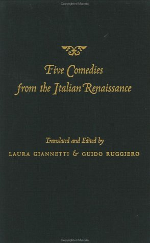 9780801872570: Five Comedies from the Italian Renaissance