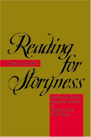 9780801873980: Reading for Storyness: Preclosure Theory, Empirical Poetics, and Culture in the Short Story