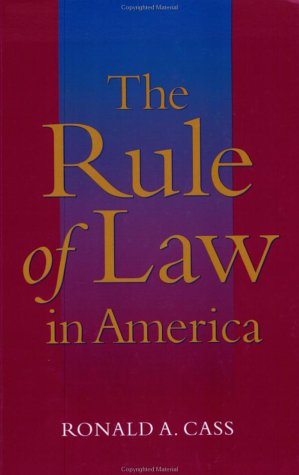 9780801874413: The Rule of Law in America