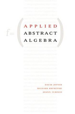 9780801878220: Applied Abstract Algebra