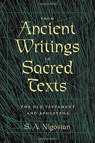 9780801879883: From Ancient Writings to Sacred Texts: The Old Testament and Apocrypha