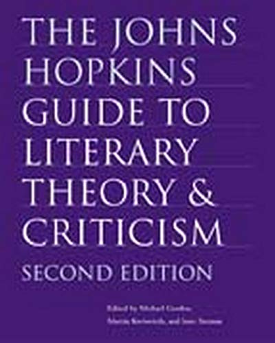 9780801880100: The Johns Hopkins Guide to Literary Theory and Criticism